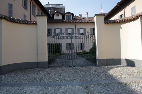 Vista posteriore di Villa Medici Vidiserti