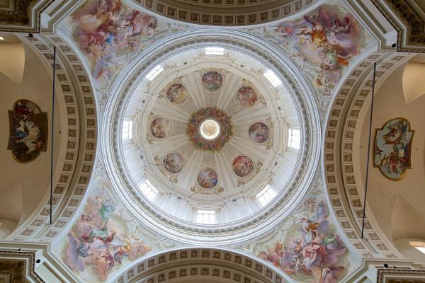 Decorazioni della cupola