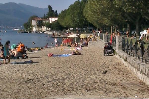 Spiaggia di Cerro, Laveno Mombello