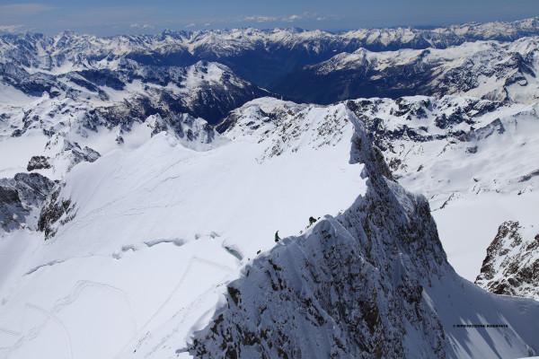 Cresta del Pizzo Bernina