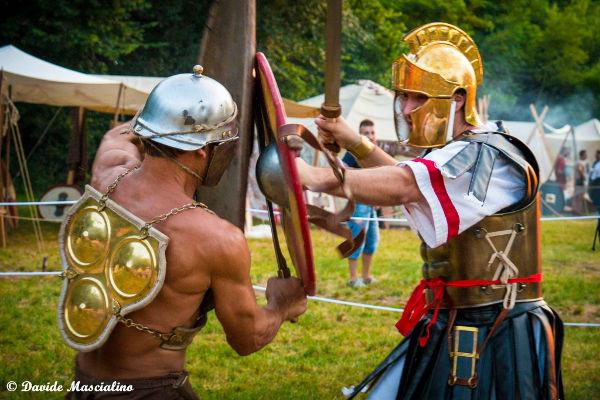 Combattimento celti vs romani