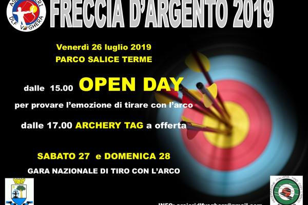 Locandina Freccia Argento 2019