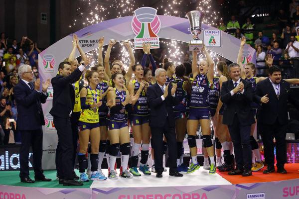Premiazione Finale Campionato Lega Volley Femminile 2018-2019