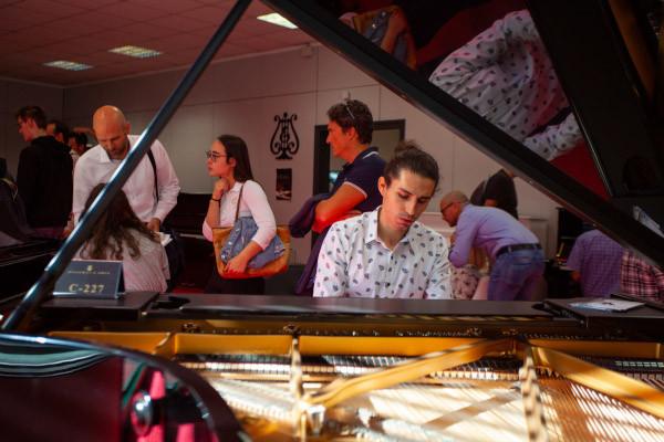 Il pianoforte a Cremona Musica Exhibitions