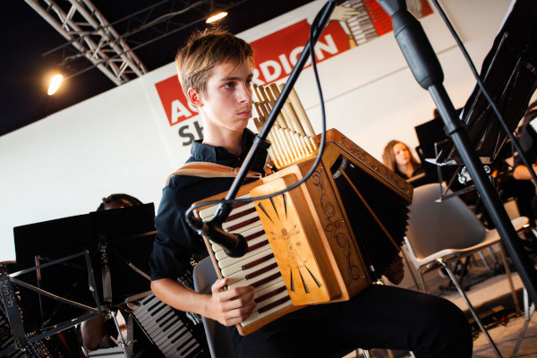 Accordion Show a Cremona Musica Exhibitions