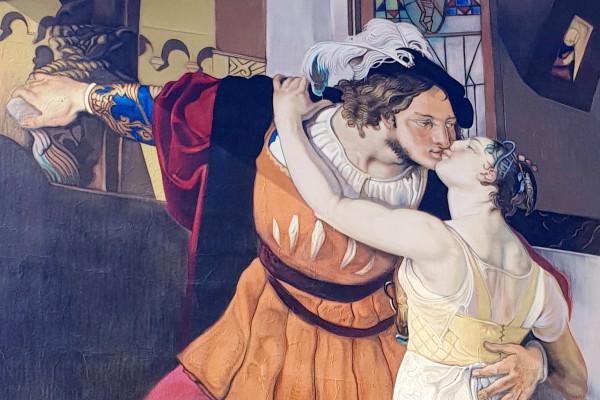 Particolare da Il bacio di Gavirate, Andrea Ravo Mattoni (Ph. Erika Montedoro)