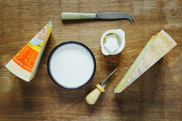 Tagliere di formaggi valtellinesi