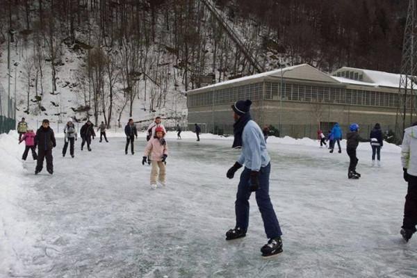 Pista di patinaggio di Lanzada