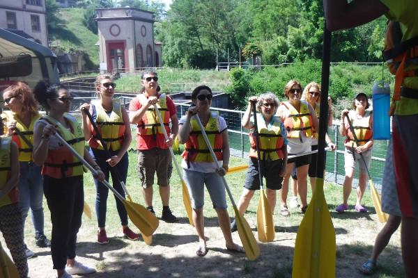 Lezioni di rafting