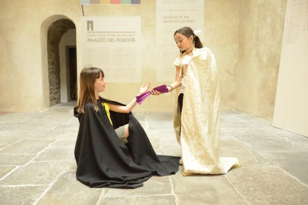 Attività per bambini organizzata dal Museo delle storie di Bergamo