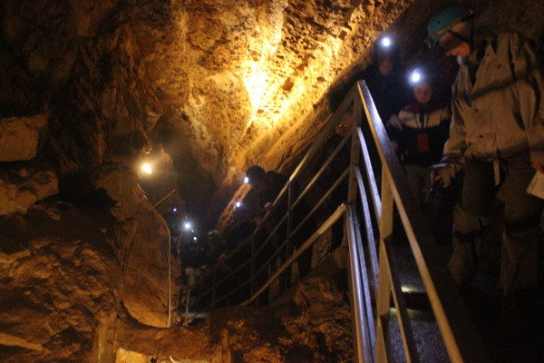 Prima Grotta, inizio del percorso turistico all'interno della Remeron
