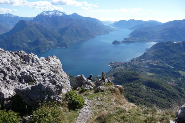 Vista da Monte Grona
