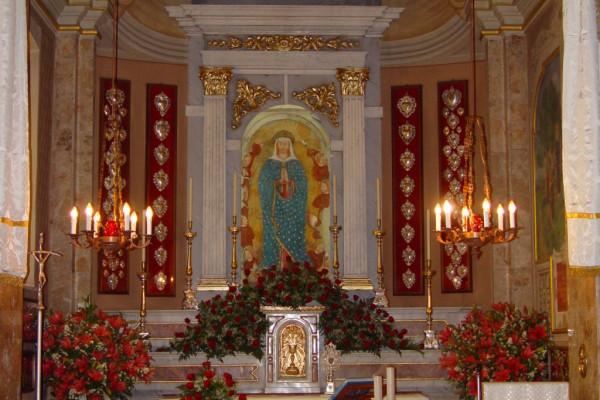 Altare Santuario della Madonna di Arcagna