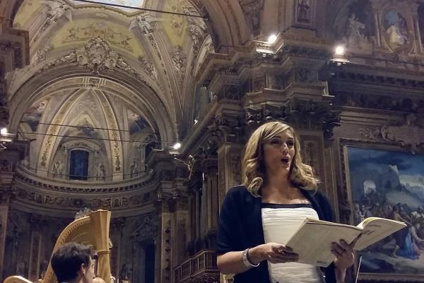 Un evento musicale in Santuario